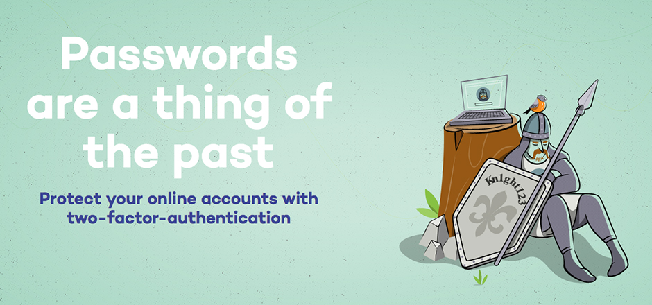 Protect your online accounts with two-factor authentication