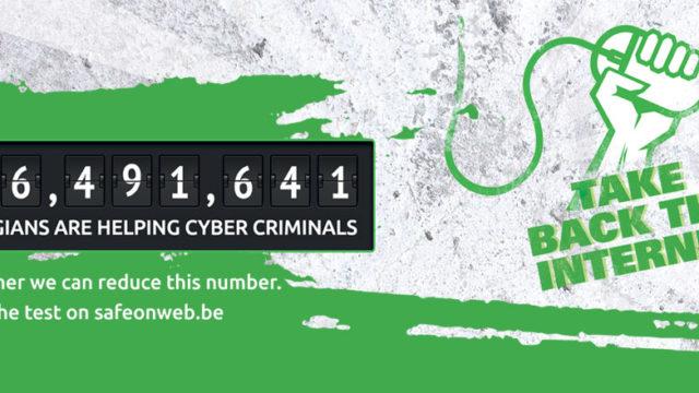 6,491,641 Belgians help cyber criminals unwittingly
