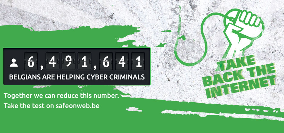 6,491,641 Belgians help cyber criminals unwittingly